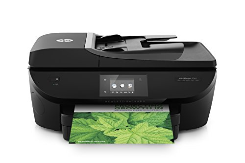 HP Officejet 5740 e-All-in-One Stampante Multifunzione, HP ePrint, Wi-Fi, Display Touchscreen CGD, Nero