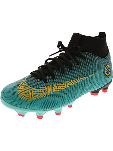e27313d48 Nike Unisex-Kinder Junior Superfly VI Academy CR7 MG Fußballschuhe Türkis  (Clear Jade