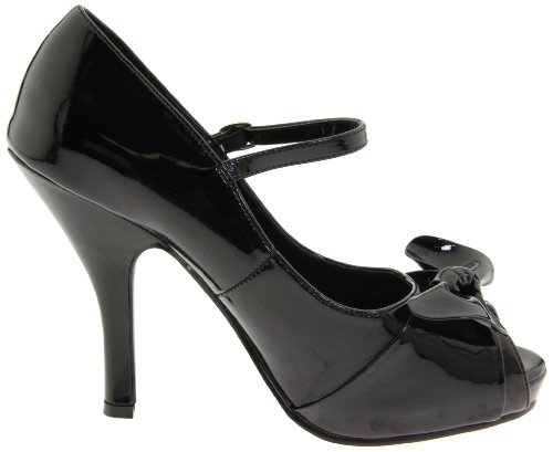 Pleaser Cutie08, Damen Pumps Blk Pat