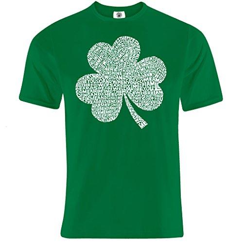 iedtext ST PATRICKS T-Shirt Gr. X-Large, Grün - Grün (St. Patricks Day Shamrock)