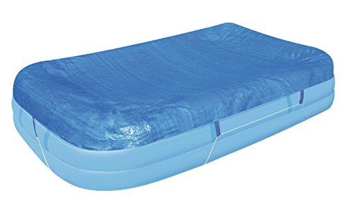 Flowclear™ PE-Abdeckplane für rechteckigen Family Pool, 305x183x56 cm, Blau (Rechteckig Polyethylen Abdeckung)