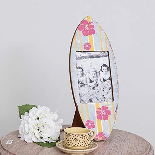 Vintage Bekleidungsgeschäft personalisierte Fotorahmen kreativen Fotorahmen Bilderrahmen Schaukeln Ornamente Ornamente, können Sie 7-Zoll-Fotos setzen QYSZYG -