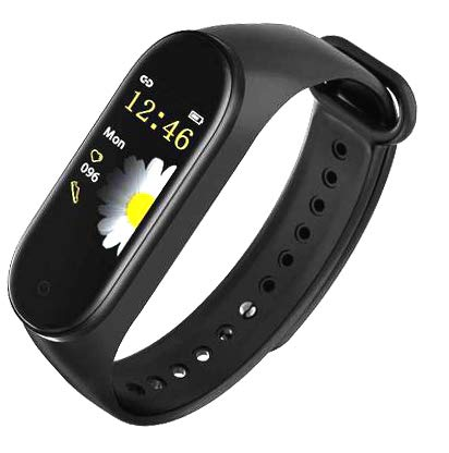 SBA999 CM4 Bluetooth Wireless Smart Fitness Band for Boys/Men/Kids/Women | Sports Watch Compatible with Xiaomi, Oppo, Vivo Mobile Phone | Heart Rate and BP Monitor, Calories Counter