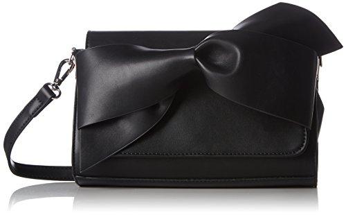 Buffalo Damen 4102028 Umhängetasche, Schwarz (Black 01), 7.0x17.0x25.0 cm -