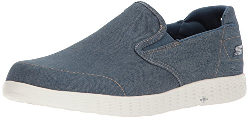 Herren Success Denim Blau The Slip Glide Skechers Sneaker Go On Aqnxdg