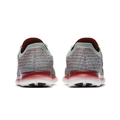 Nike Wmns Gratuit Rn Flyknit, Scarpe De Corsa Donna Sky Rose / Blanc 006