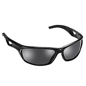 Gafas de Sol Deportivo para Ciclismo de Omorc, Aurora Polarizadas con TR90, Marco Irrompible para Ciclismo, Esquí de Conducción, Golf y Correr