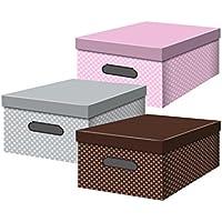 Confortime Topos - Caja de multiusos, 6 unidades