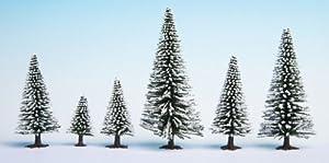 NOCH 26929 - Árboles de Nieve (5 Unidades, 5 a 9 cm)