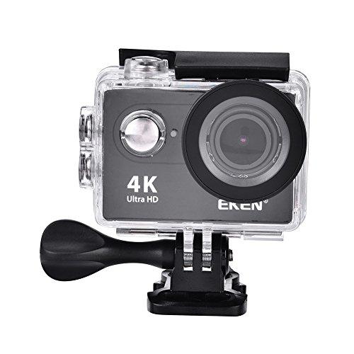 Acouto Action Kamera 12 M 4 Karat 2 Zoll Bildschirm 170 ° Weitwinkel Wasserdichte Sport Kamera Camcorder Head Cam Kits für Outdoor Surfen Radfahren Reiten