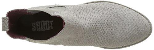 SHOOT Shoes Sh-215401s, Stivali a Metà Polpaccio con Imbottitura Leggera Donna Grigio (Grigio (grigio))