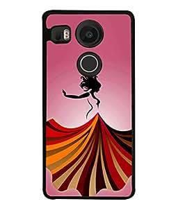 PrintVisa Designer Back Case Cover for LG Nexus 5X :: LG Google Nexus 5X New (Jaipur Rajasthan Tribal Azitec Mobiles Indian Traditional Wooden)