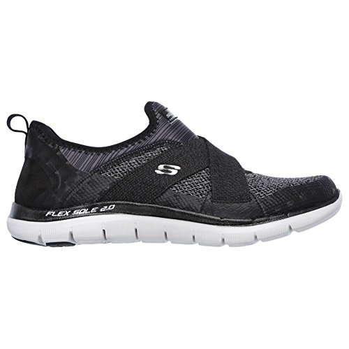 promo code c4fd1 9adfc Skechers Flex Appeal 2.0 New Image Women s Trainers Fitness Air Cooled  Slipper, Tamaño de Zapato