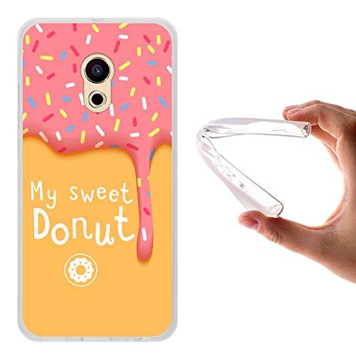 Meizu Pro 6 Hülle, WoowCase Handyhülle Silikon für [ Meizu Pro 6 ] My Sweet Donut Handytasche Handy Cover Case Schutzhülle Flexible TPU - Transparent