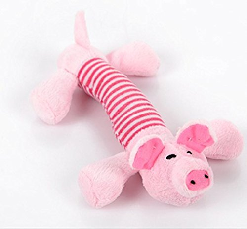 Stillshine - mascotas perro molares cachorro masticar chillón chillón de peluche de juguete, juguetes de peluche cachorro de peluche animal de cama (Estilo 1)
