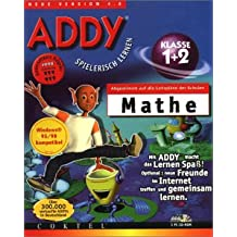 ADDY: Mathe Klasse 1 und 2. 3 CD- ROMs für Windows 95