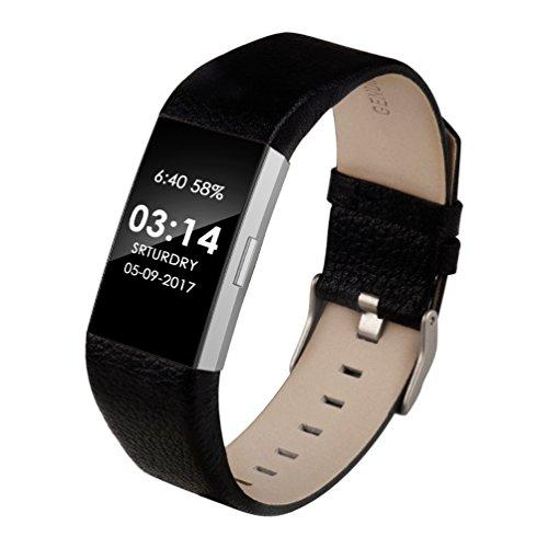 Wearlizer für Charge2 Armband, Leder Ersatzband für Charge 2 Armband