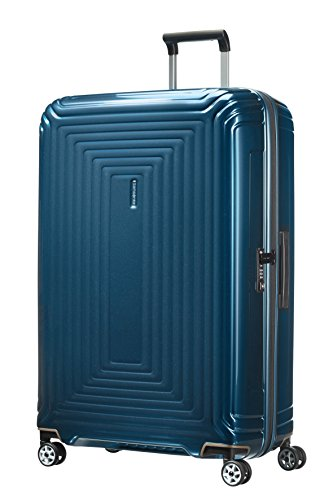 Samsonite Neopulse - Spinner 81 - 3.80 Kg, Valise 81 cm, 124 litres, Bleu (Metallic Blue)