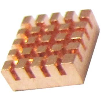 New Heatsink for Raspberry Pi |2x Pure copper & 1x aluminum | Best cool