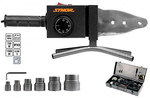 Sthor 78912-PVC Rohr Kunststoff Lötkolben 700W/1500W/Sthor/ (Kunststoff-rohre)