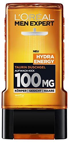 L'Oréal Men Expert Duschgel Hydra Energetic, 2er Pack (2 x 300 ml)