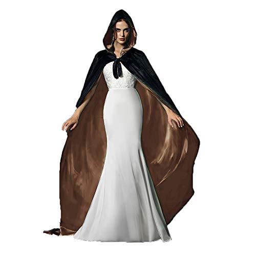 Holloween Flügel Kostüm - Halloween Cosplay Kostüme Party Capes Unisex Weihnachten Tag Kapuzenumhang Umhang Umhang - Schwarz - XXX-Large
