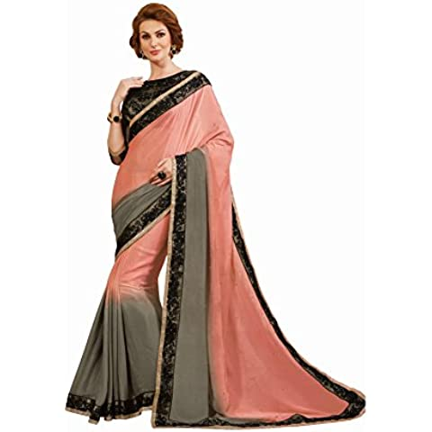 Sudarshan Silks -  Sari  - stile impero - Donna