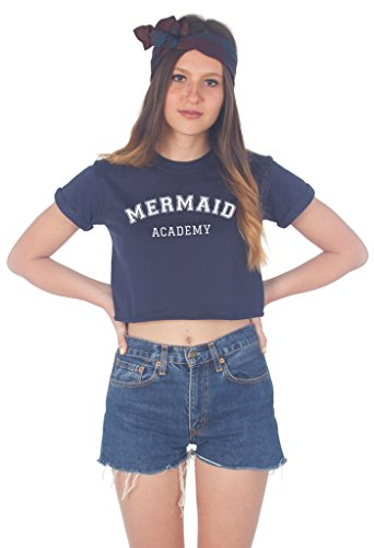 Sanfran Clothing Damen T-Shirt Marineblau