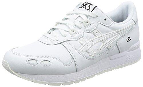 Asics Gel-Lyte, Zapatillas para Hombre, Blanco White 0101, 46 EU
