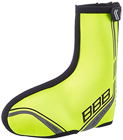 BBB HeavyDuty Winter Cycling Overshoes Strong Thermal Shoe Covers (Yellow, 39-40)