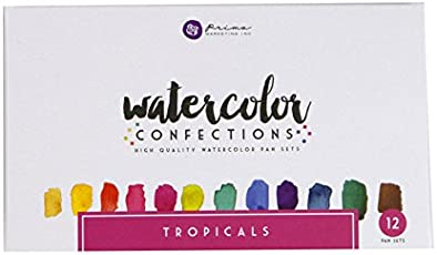 Prima Marketing Watercolor Confections: Tropicals