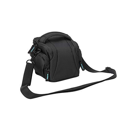 Bodyguard Easy System L Sacoche pour Appareil Photo Bridge Nikon Coolpix L330 L340 L840 B500 Noir