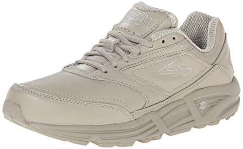 Brooks Women's Addiction Walker Walking Shoe,Bone,9.5 EE