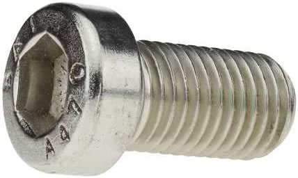 Reidl Zylinderschrauben mit Innensechskant und niedrigem Kopf mit Schl/üsself/ührung 10 x 100 mm DIN 6912 A2 blank 1 St/ück