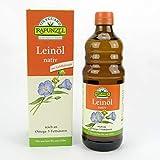 4 x Leinöl nativ bio
