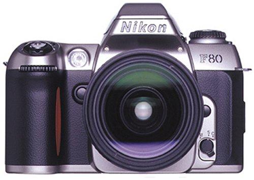Nikon F80 Spiegelreflexkamera Silber inkl. 28-80mm Original-Zoomobjektiv