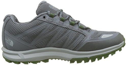 The North Face Herren Litewave Fastpack Gore-Tex Trekking-& Wanderhalbschuhe Grau (Zinc Grey/green)