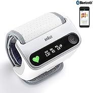 Braun iCheck 7 BPW4500WE - misuratore di pressione da polso per un monitoraggio intelligente e rapido della pr