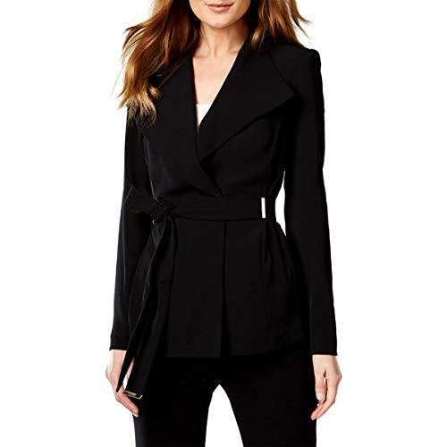 Calvin Klein Womens Wrap Long Sleeves Jacket Calvin Klein-wrap