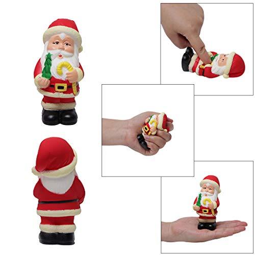 Nysunshine Dekompressions-Spielzeug, Weihnachtsmann, Schwarze Stiefel, langsamer steigender Stressabbau