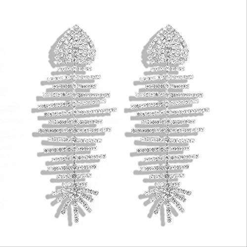KBWL Orecchino Orecchini pendenti in cristallo lucido di nuova moda Orecchini pendenti Gioielli animali Regalo femminile7