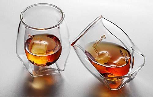 Infiniment Grand Centre de Home Decor Lot de 2 Bar Old Fashioned Verre à Whisky