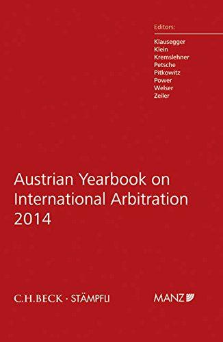 Austrian Yearbook on International Arbitration 2014