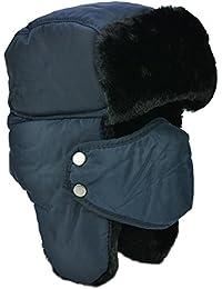 Unisex Inverno di Earflap Trapper Trapper Cappelli del Bombardiere Berretti  Berretti Tenere in Caldo Sci Skate c3e32e545f7c