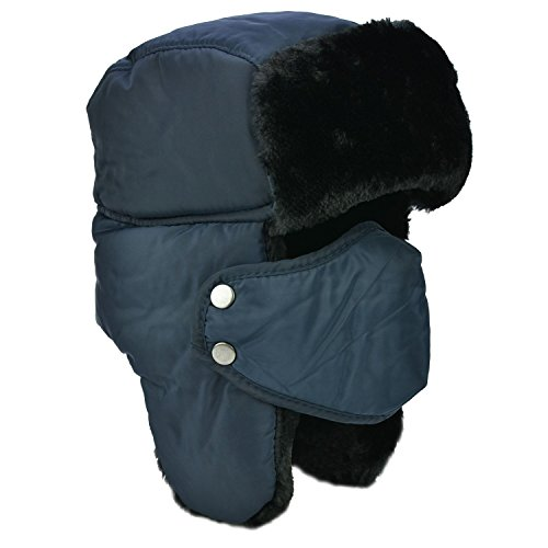 Unisexe Hiver Chapka Ear Flap Trappeur Bomber Casquettes Bonnets Chapeaux Garder Chaud Patinage Ski Autres Activités en Plein A