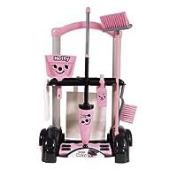 Casdon Hetty Cleaning Trolley,pink