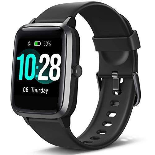 blackview smartwatch fitness tracker orologio uomo donna, sportivo smart watch con impermeabile ip68 cardiofrequenzimetro da polso activity tracker contapassi per android iphone samsung huawei xiaomi