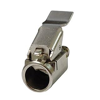Aerzetix: Hebelstecker für Schraderventil Pumpenkopf Metall für Luftpumpe oder Kompressor 12mm für große Ventil