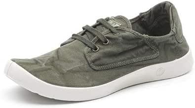 Natural World Scarpe Uomo Lacci Cotone bio Plantare Estraibile Vegan Shoes 40
