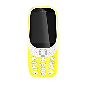 Nokia 3310 UK-SIM Free Feature Phone Glossy Yellow